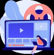Animated videos on social media